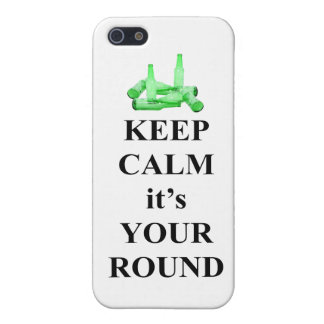 Keep calm it's your round case for iPhone SE/5/5s