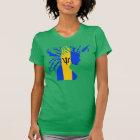 Keep Calm Iz A Bajan Ting T-shirt