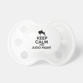 Keep calm Judo designs BooginHead Pacifier