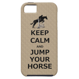Keep Calm & Jump Your Horse iPhone 5 Covers