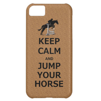 Keep Calm & Jump Your Horse iPhone 5C Cover