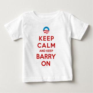 Keep Calm Keep Barry On Baby T-Shirt