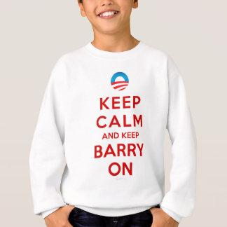Keep Calm Keep Barry On Sweatshirt