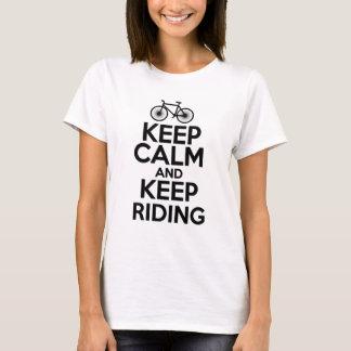 Keep Calm & Keep Riding T-Shirt