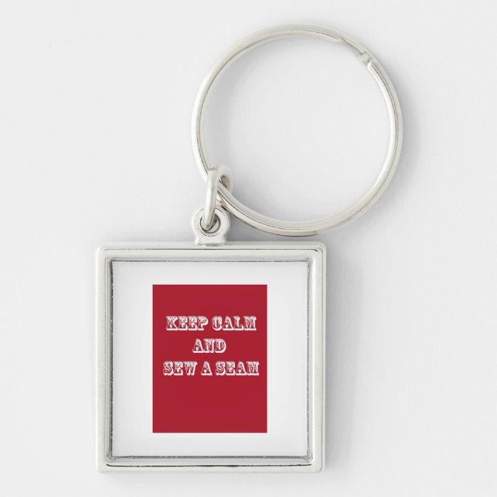 Keep Calm! Keychain