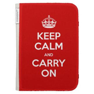 Keep Calm Kindle Kindle Case