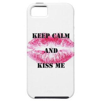 Keep Calm & Kiss Me iPhone 5 Case