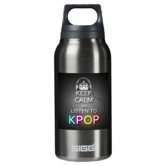 KEEP CALM (Kpop version) Insulated Water Bottle