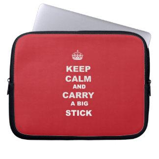 Keep Calm Laptop Sleeves