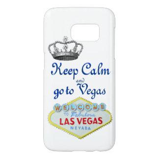 Keep Calm Las Vegas Samsung Galaxy S7 Case