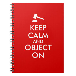 Keep Calm Lawyer Notebook Add Your Text Custom