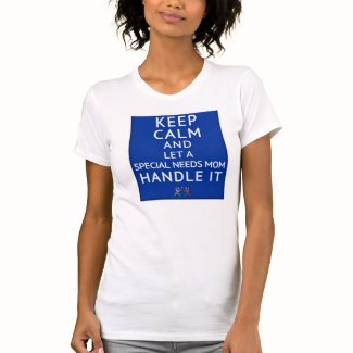 Keep Calm & Let A Special Needs Mom (Jersey Tshirt