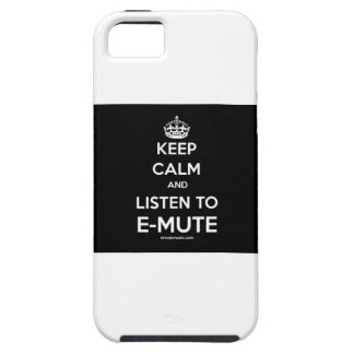 Keep Calm & Listen to E-Mute iPhone case