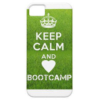 Keep Calm & Love Bootcamp iPhone 5 Cover