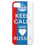Keep Calm & Love Russia iPhone 5 Cover