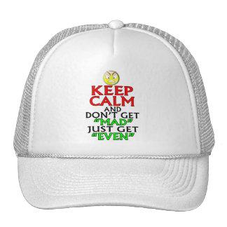 Keep Calm -- Mad Trucker Hat