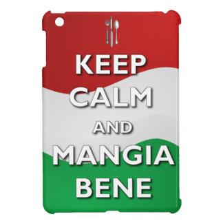 Keep Calm Mangia Bene Italy iPad Mini Case