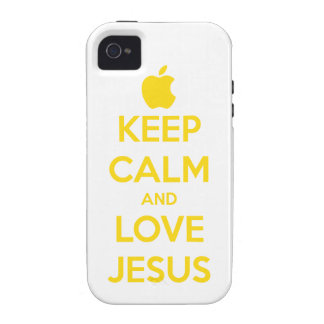 Keep Calm marries iPhone 4 - and Love Jesus Case For The iPhone 4