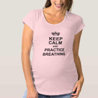 Keep Calm Maternity Tee