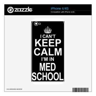 keep calm med school decals for the iPhone 4S
