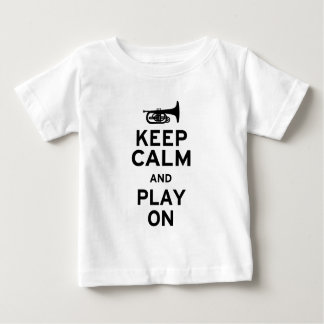 Keep Calm Mellophone Baby T-Shirt