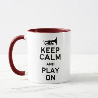 Keep Calm Mellophone Mug