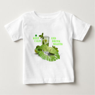 Keep Calm Mojito Baby T-Shirt