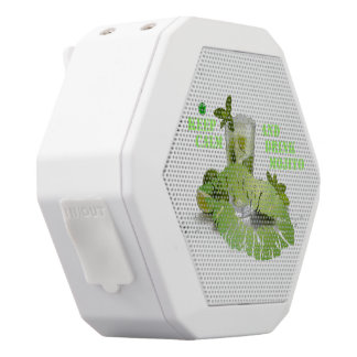 Keep Calm Mojito White Bluetooth Speaker