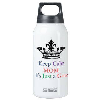 Keep Calm Mom Insulated Water Bottle