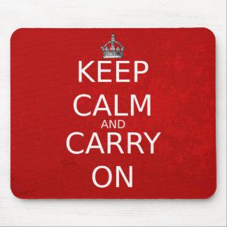 Keep Calm Mouse Mat Mouse Pad