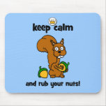 keep calm mouse pads