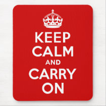 Keep Calm Mousepad