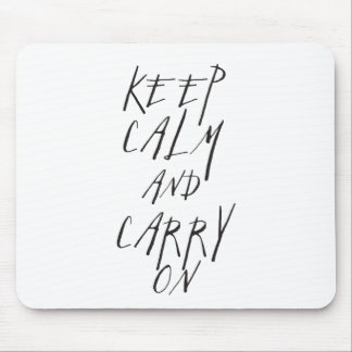 Keep Calm Mousepads
