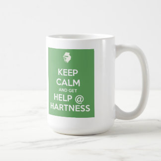 Keep Calm mug - Hartness green