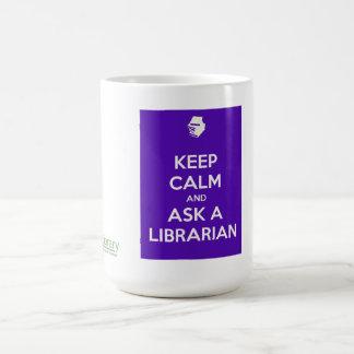 Keep Calm Mug - purple