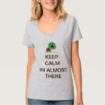 Keep Calm--Music Only Makes Me Faster T-Shirt