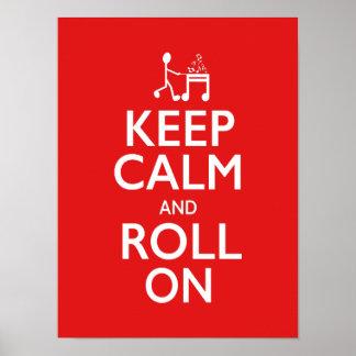 Keep Calm - Music Poster