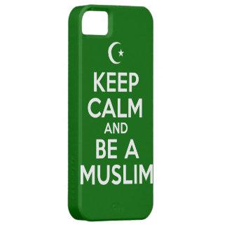 Keep Calm Muslim iPhone SE/5/5s Case