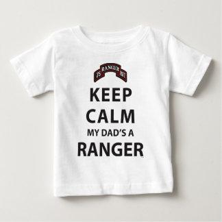 KEEP CALM MY DAD'S A RANGER BABY T-Shirt