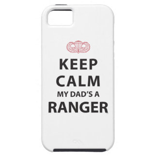 KEEP CALM MY DAD'S A RANGER iPhone 5 COVER