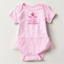 Keep Calm My Mom Is A School Psychologist Bodysuit
