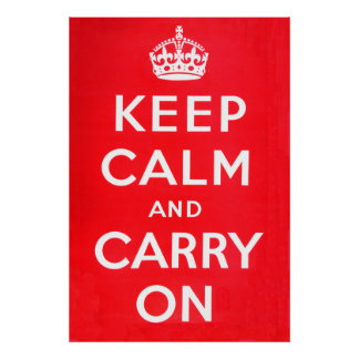 Keep Calm - National Archives Print