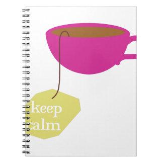 Keep Calm Spiral Note Books