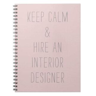 Keep Calm... Notebook