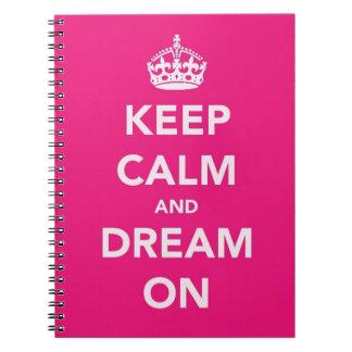 Keep Calm Notebook