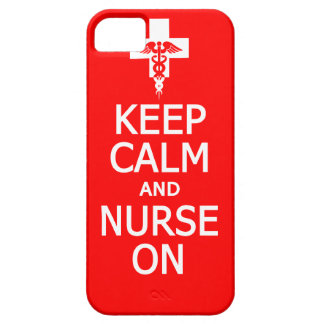 Keep Calm & Nurse On iPhone Case-Mate