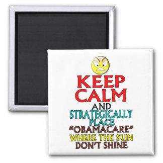 Keep Calm -- Obamacare Fridge Magnet