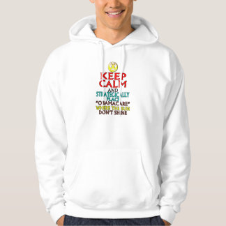 Keep Calm -- Obamacare Hooded Pullover