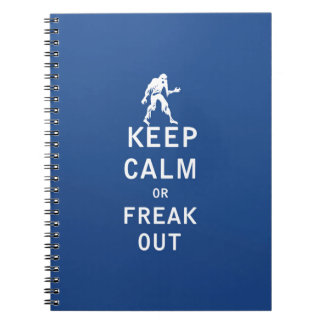 Keep Calm or Freak Out Notebooks