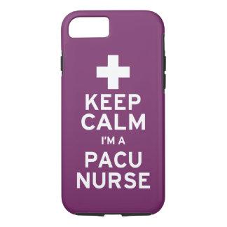 Keep Calm PACU Nurse iPhone 7 Case